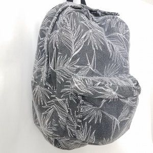 Rip Curl Backpack In The Shade Gray Tropical Leaf